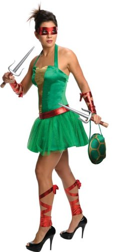 Official Costumes Women's TMNT Female Raphael Costume