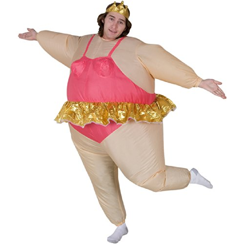 Inflatable Ballerina Adult Fancy Dress Costume