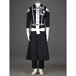 CTMWEB D.Gray Man Cosplay Costume - Yu Kanda Exorcist Uniform 1st Ver Medium