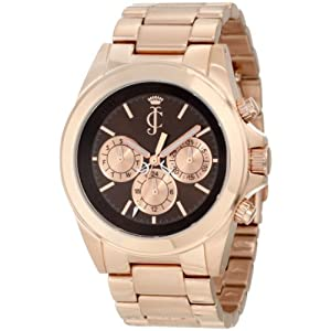 Juicy Couture Women's 1900900 Stella Rose Gold Plated Bracelet Watch