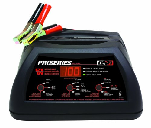 Schumacher PSC-12500A DSR ProSeries 125/15-40/2 Amp 6/12 Volt Automatic SpeedCharge Hybrid Battery Charger/Starter