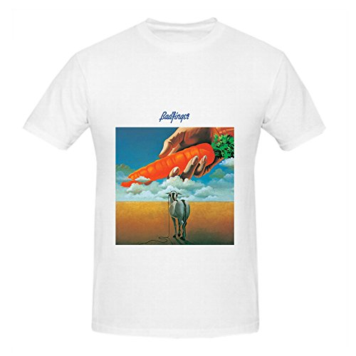 Badfinger Ass Electronica Men Crew Neck Slim Fit T Shirt White (Plumbers In Seattle compare prices)