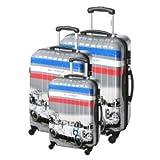 COM8 3 valises trolley