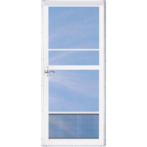 Exterior doors aluminart 62rd2l036wh regal deluxe 2 lite for Full view exterior door