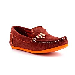 Willy Winkies - Brown Color Genuine Leather Shoes-116 - 25