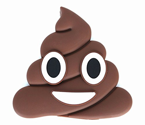 Dash-Charms-Poop-Emoji-2600mAh-USB-Portable-Charger-Power-Bank-For-IOS-Android-Devices-Cute-Funny-Gift-Includes-Micro-USB-Cable