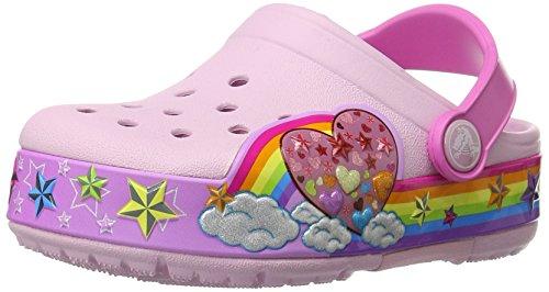 crocs-Kids-CrocsLights-Rainbow-Heart-Light-Up-Clog-InfantToddlerLittle-KidBig-Kid