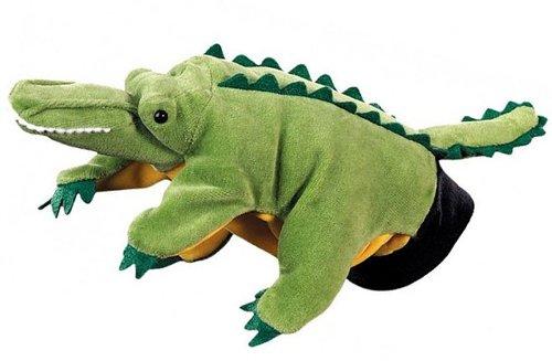 Crocodile Hape Hand Glove Puppet Crocodile Multi Color