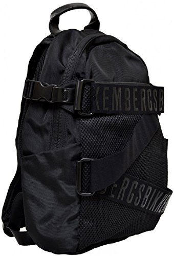 Borsa Borsone Zaino Uomo Donna Bikkembergs Bag Big BackPack Men Woman Db-Strap Black D3002