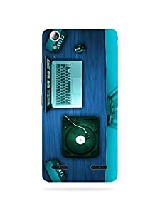 alDivo Premium Quality Printed Mobile Back Cover For Lenovo A6000 / Lenovo A6000 Printed Mobile Case / Back Cover (MN501)