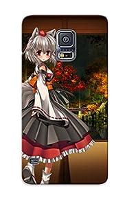 Kei (pixiv) Loli Photoshop Red Eyessword Tail Touhou Weapon Wolfgirl