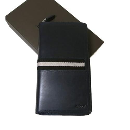 (バリー)BALLY TEVIN/517 ラージラウンドファスナー長財布(ニューブルー) 6187216 BA-1005 [並行輸入品]