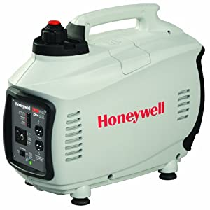 Honeywell 6066 2,000 Watt 126cc 4-Stroke OHV Portable Gas Powered Inverter Generator