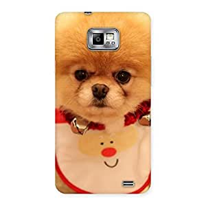Gorgeous Cutest Pup Multicolor Back Case Cover for Galaxy S2