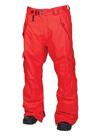 686 Smarty Original Cargo Snowboard Pants Chili Mens Sz M by 686