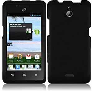 For Huawei Ascend Plus H881C Hard Cover Case Black Accessory