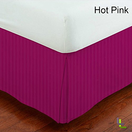 Hot Pink Bed Skirts front-1068679