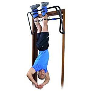 Teeter Hang Ups EZ Up Inversion and Chin Up System with Rack, Gravity Boots and Healthy Back DVD