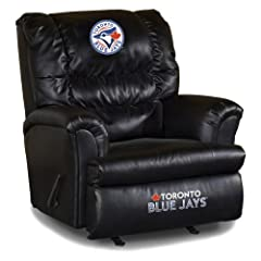 Buy MLB Toronto Blue Jays Big Daddy Leather Recliner by Imperial