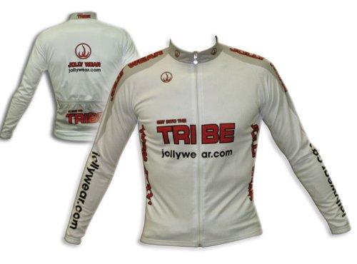 Buy Low Price JOLLYWEAR Cycling Jersey – long sleeve for mid-season (JW WHITE collection) (B002Z8DFLQ)