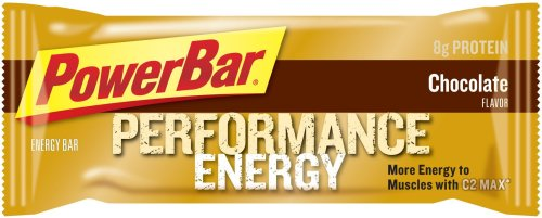 PowerBar Performance The Original Energy Bar, Chocolate, 2.29-Ounce Bars (Pack of 24)