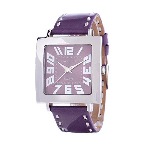 Tokyobay Tramlucent watch, purple