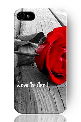 Sprawl New Fashion Design Hard Skin Case Cover Shell For Mobile Phone Apple Iphone 5 5S--Love Is Life
