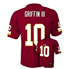Robert Griffin III RG3 Washington Redskins NFL Football Youth Size Jersey #10 by OuterStuff