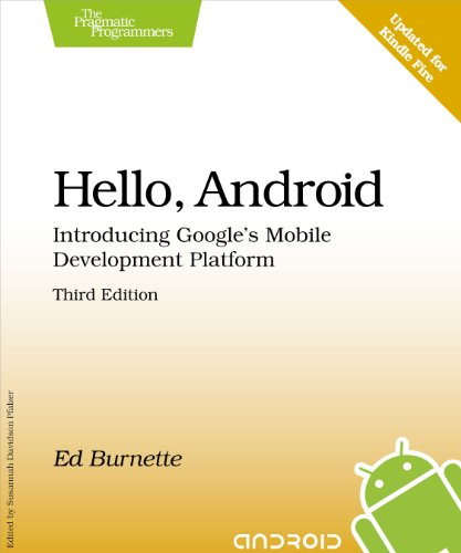 Hello, Android: Introducing Google's Mobile Development Platform (Pragmatic Programmers) (Android Programming Online Shop compare prices)