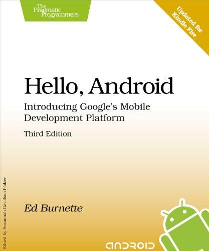 Bewertung für Hello, Android: Introducing Google's Mobile Development Platform (Pragmatic Programmers)