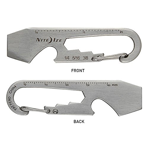 Nite Ize KMT-11-R3 DoohicKey Multi-Tool, Stainless,