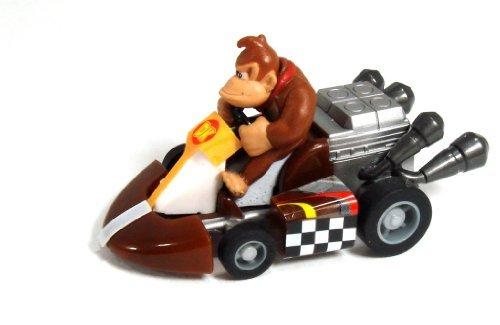 Mario Kart Tomy Gashopan 1.5 Inch Donkey Kong Pull Back Racer - 1