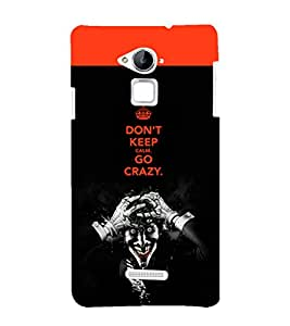 EPICCASE Crazy Joker Mobile Back Case Cover For CoolPad Note 3 (Designer Case)