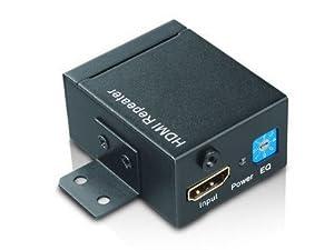 Ligawo ® HDMI Kabel Verstärker Repeater Verlängerung bis 35m + 8 Verstärkungsstufen + aktiv/ passiv + 3D HDCP