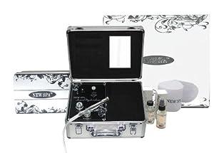 Diamond Microdermabrasion Portable Machine NEW SPA HOME Skin Care Kit (Silver&Black)