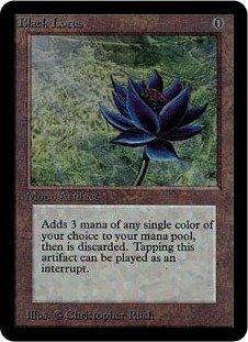 マジック:ザ・ギャザリング 【英語】 【アルファ】 Black Lotus