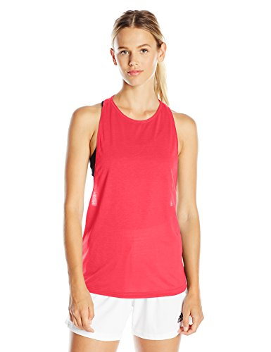 adidas Women's Performer Tank Top, X-Small, Shock Purple