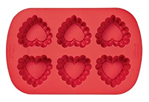 Crinkled Silicone Muffin Pan