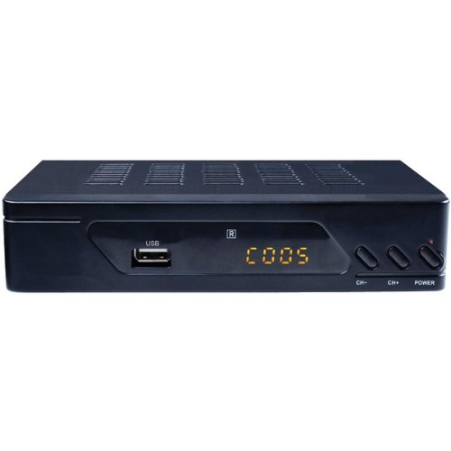 Proscan Pat102-B Digital Converter Box With Built-In Atsc Tuner For Over The Air Digital Broadcast Reception