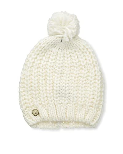 Vince Camuto Women's Knit Hat with Pom Pom, Ivory
