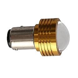 See Rosequartz 1157 3W Double Angle Brake Car Light Lamp White Details