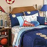 Disney Sports Fan Full Sheet Set - 4pc American Sports Sheets Full-Double Bed