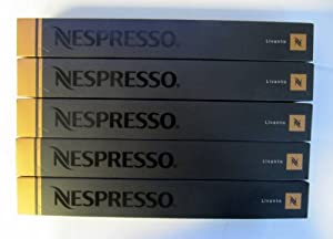 50 Nespresso Capsules Livanto Coffee NEW