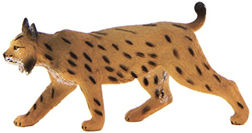 Mojo Fun 387064 Iberian Lynx - Realistic International Wildlife Toy Replica - 1