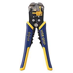 IRWIN Tools VISE-GRIP Self-Adjusting Wire Stripper, 8-Inch (2078300)