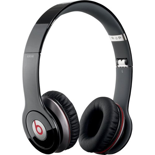 Beats by Dr. Dre Solo HD Naturally Noise Isolating On-Ear Headphones (Black)