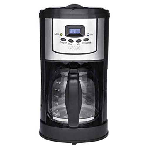 Cooks Coffee Maker Filter Basket : Bella Linea 900w 12-cup 24-hour LCD Programmable Coffee Maker 2-hr Keep Warm Setting Auto Pause ...
