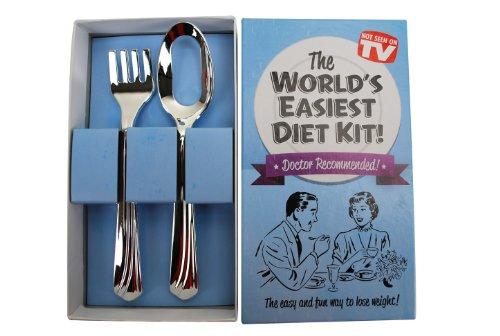 BigMouth Inc World's Easiest Diet Gag Gift Kit
