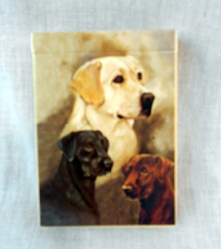 Best Friends Playing Cards, by Ruth Maystead - Labrador Retrievers - 1