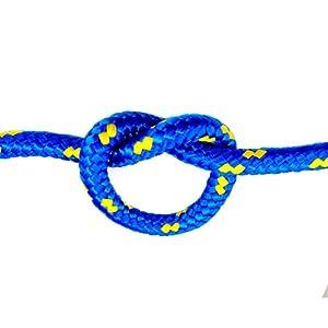 50m POLYPROPYLENSEIL 2mm BLAU Polypropylen Seil Tauwerk PP Flechtleine Textilseil geflochten